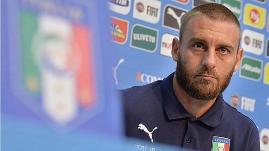 De Rossi reclamou do horário do jogo entre Itália e Costa Rica em Recife