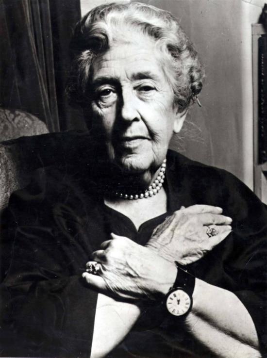 Agatha Christie é uma das maiores best-sellers de todos os tempos