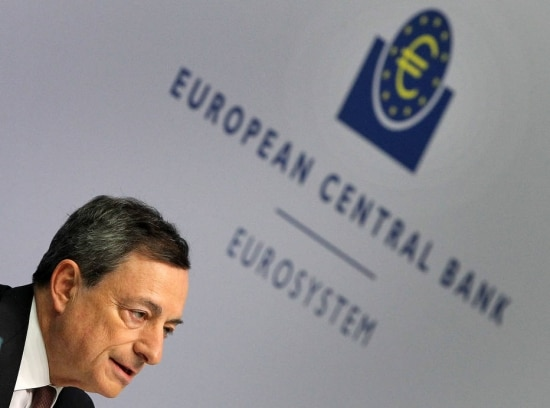 O presidente do Banco Central Europeu, Mario Draghi