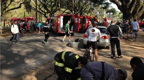 Pedreiro atropelou cinco pessoas que treinavam corrida na Cidade Universitária
