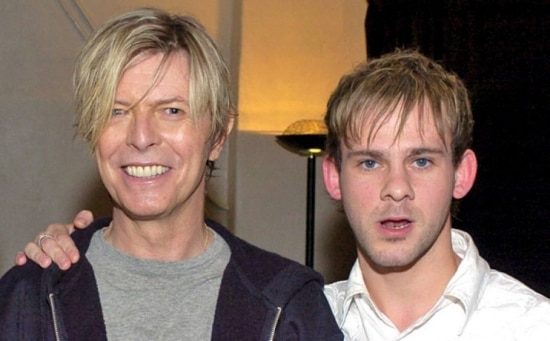 David Bowie e Dominic Monaghan
