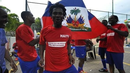 Haiti bate o Congo na Copa dos Refugiados