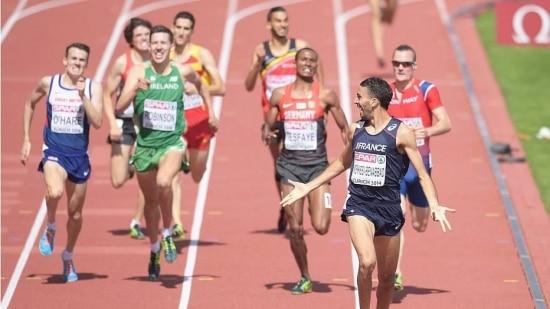 Mahiedine Mekhissi-Benabbad venceu a prova com facilidade