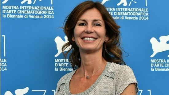 Cineasta francesa Alix Delaporte, no Lido em Veneza