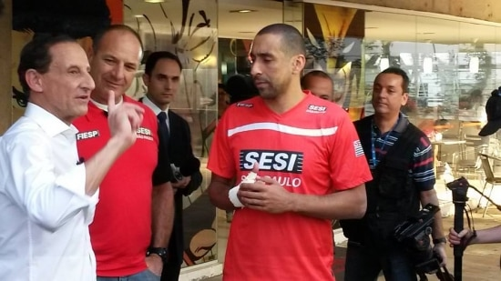 Candidato do PMDB havia dito que tema da falta de água não deveria entrar no debate eleitoral