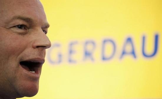 O diretor-presidente da Gerdau, André Gerdau Johannpeter