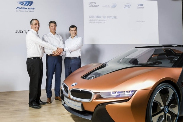 BMW, Intel e Mobileye