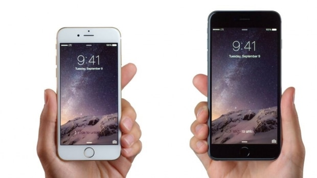iPhone 6 e iPhone 6 Plus, 2014