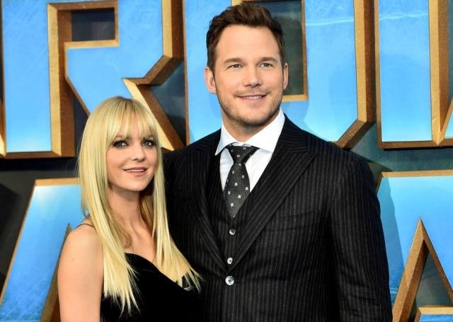 Anna Faris e Chris Pratt Separação-supresa em Hollywood