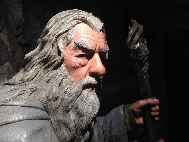 Boneco de Gandalf, à venda naWeta, empresa responsável pelo visual de 'O Senhor dos Anéis'