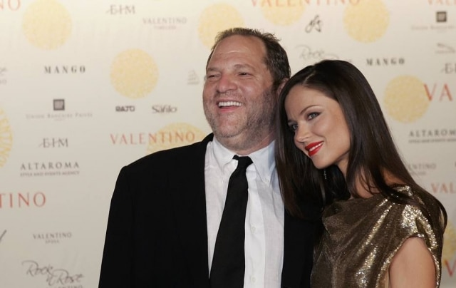 Harvey Weinstein é casado com Georgina Chapman, co-fundadora da Marchesa