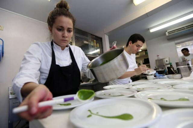Giovanna treinou por meses sem parar na escola de Laurent Suaudeau para a final latino-americana do Bocuse D'Or