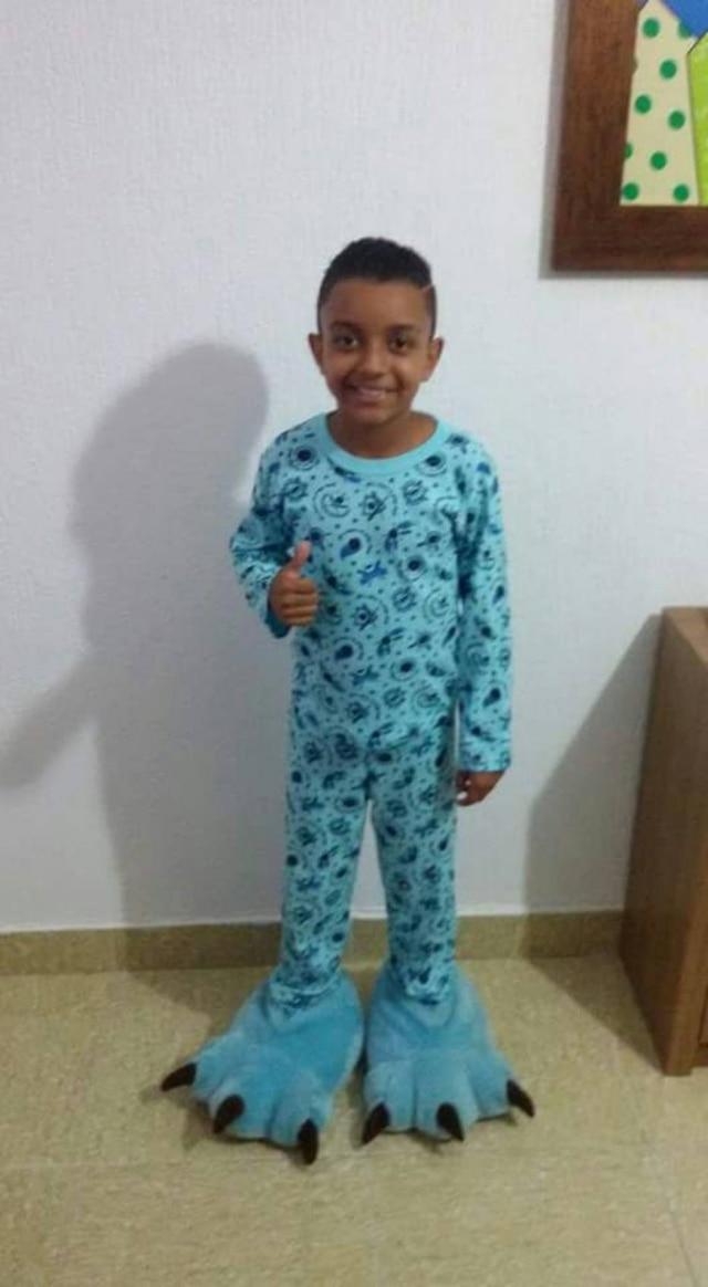 João tem 11 anos e está com os pais desde o início de 2016