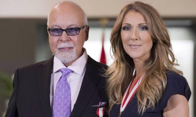 Celine Dion e René Angelil.