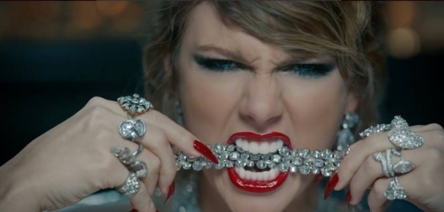 Taylor Swift em'Look What You Made Me Do'.