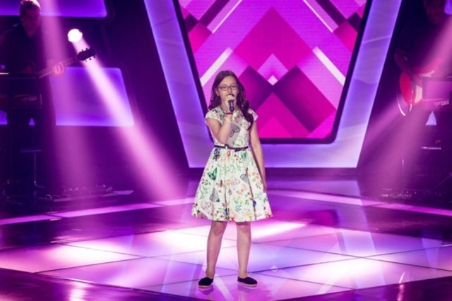 Mariana de Medeiros no 'The Voice Kids'