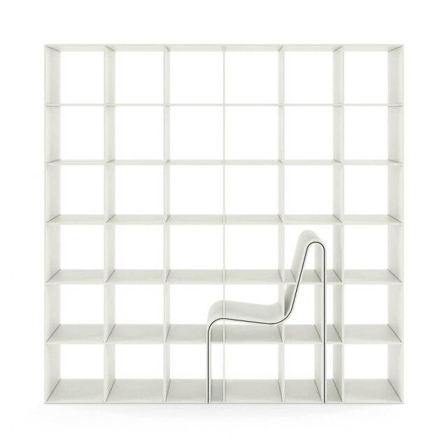Obra de Sou Fujimoto para a Alias integra cadeira e estante