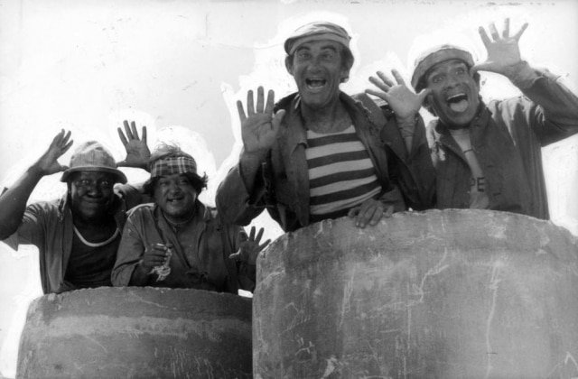 'Os Trapalhões': Mussum, Zacarias, Didi e Dedé