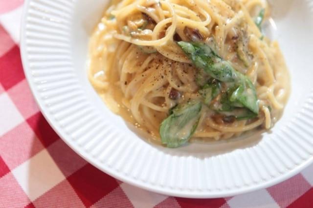 Espaguete ao molho de provolone