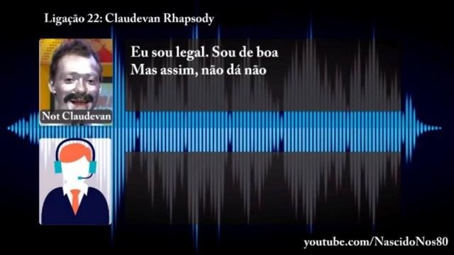 Thiago chegou a compor uma música para explicar que não era o Claudevan para quem o banco ligava.