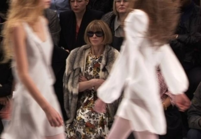 Anna Wintour, editora chefe da Vogue América, é a protagonista do documentário 'The September Issue'