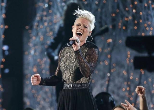 P!nk irá cantar o hino nacional americano no Super Bowl