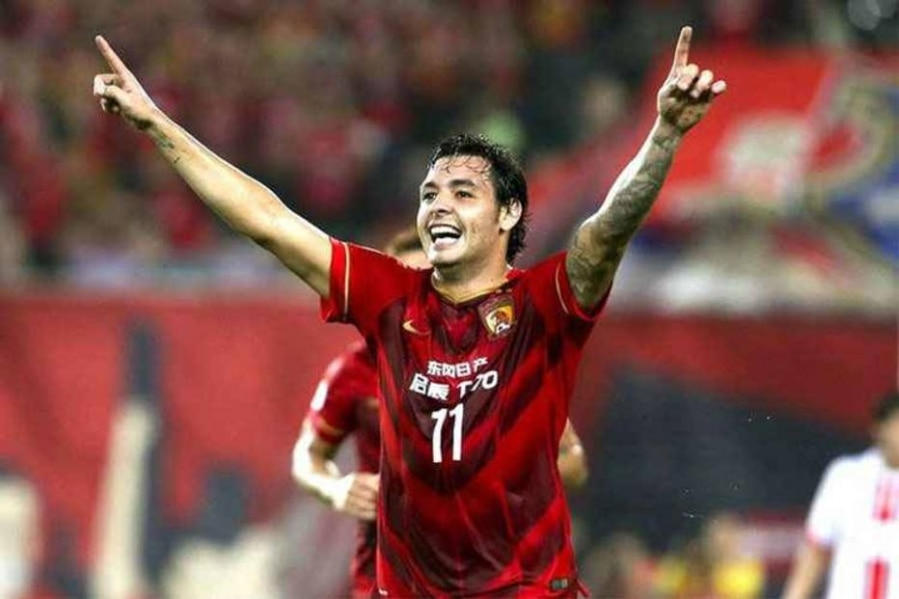 Ricardo Goulart foi o melhor jogador doúltimo Campeonato Chinêse da Liga dos Campeões da Ásia