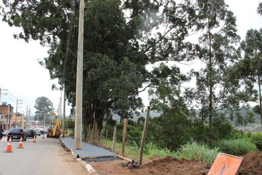 Haddad vai cobrar morador por construção de calçada - Prefeitura de São Paulo/Divulgação