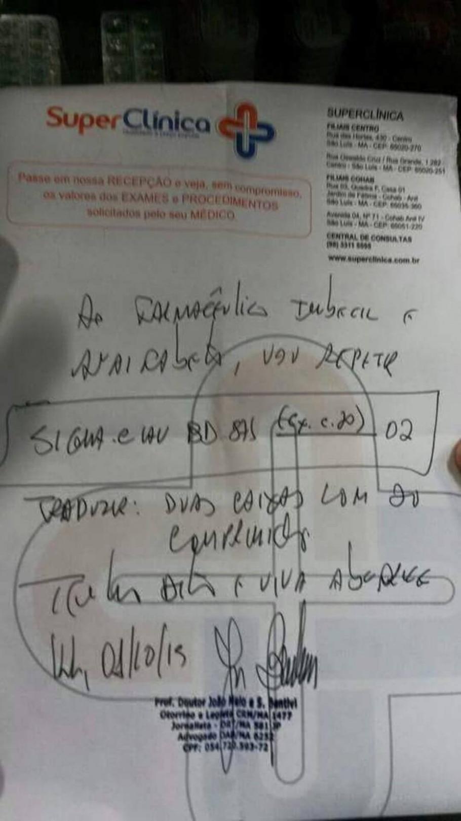 Médico do Maranhão chama farmacêutico de 'imbecil' e 'analfabeto' - Facebook/Reprodução