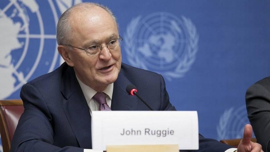 John Ruggie Fifa - Eric Bridiers/ US Mission/ Divulgação