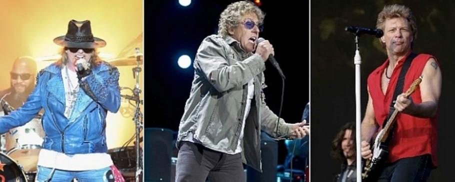The Who, Guns N' Roses, Bon Jovi vão tocar juntos em festival em SP - Daniel Teixeira/Estadão e Jonathan Short//AP