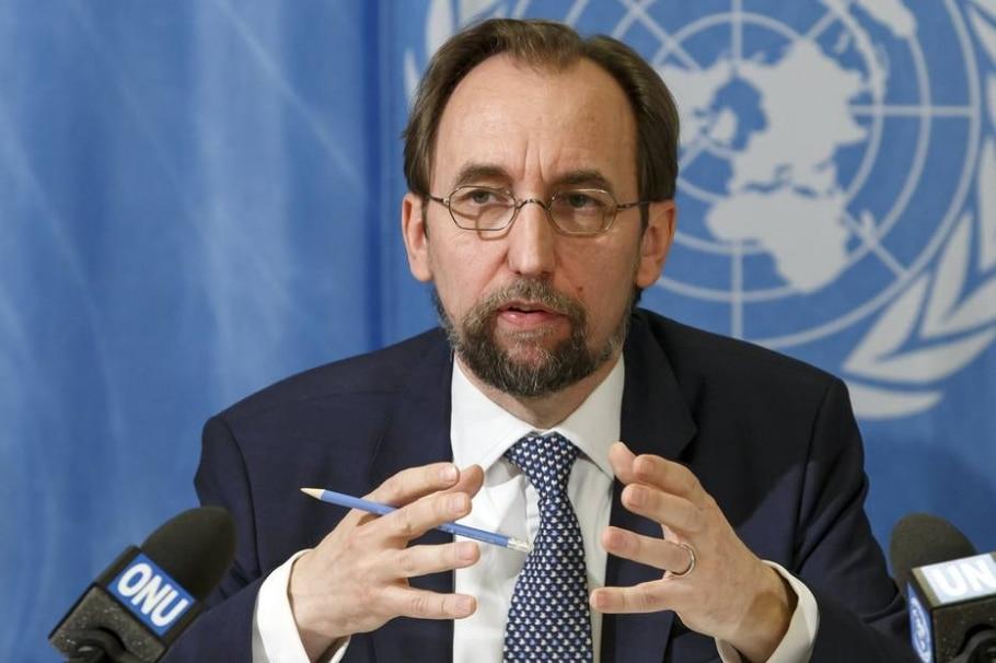 Chefe de direitos humanos da ONU, Zeid Ra'ad Al Hussein - Salvatore Di Nolfi/EFE
