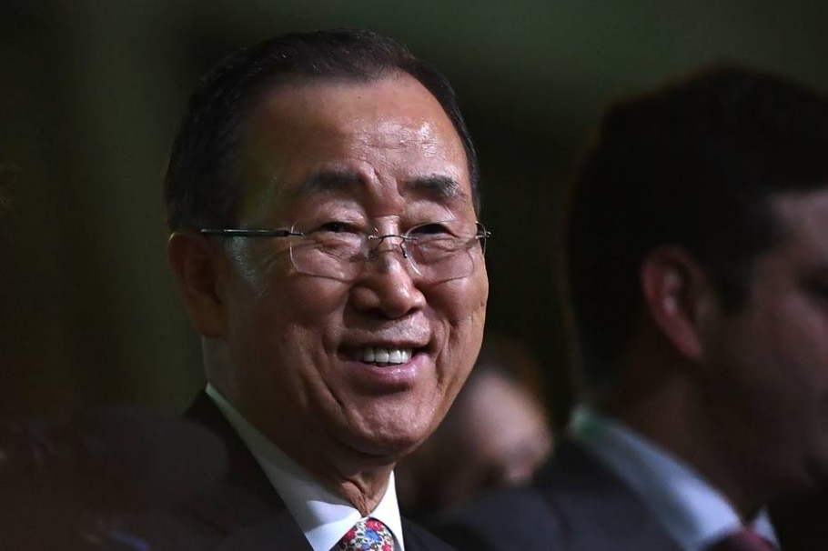 Secretário-geral da ONU, Ban Ki-moon, pediu que comunidade internacional apoie a Colômbia na nova etapa do processo de paz - AFP PHOTO / Kirill KUDRYAVTSEV