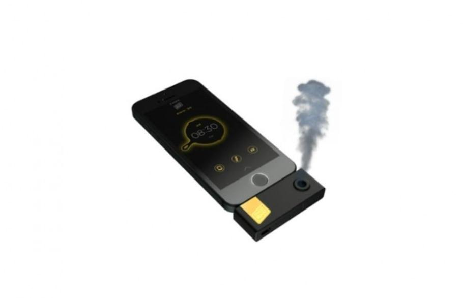 Aplicativo com dispositivo acoplado libera aroma para acordar amantes de bacon - Reprodução/Estadão