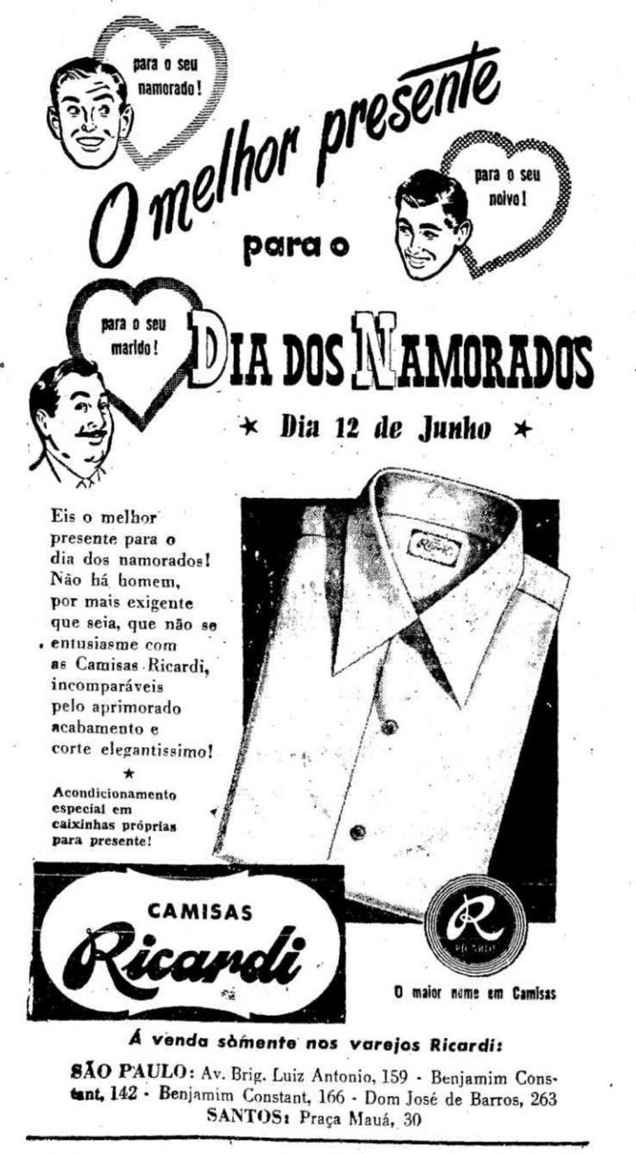 Camisa, 10/6/1952 - Acervo/Estadão