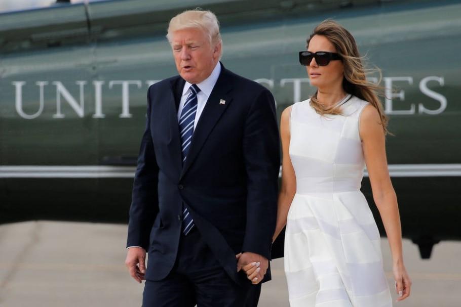 Donald Trump e Melania Trump - REUTERS/Jonathan Ernst