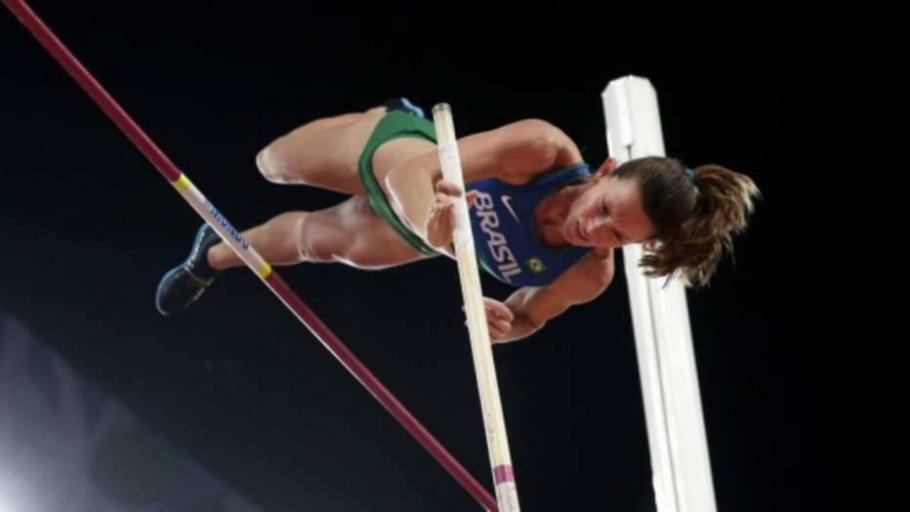 Fabiana Murer, atleta de salto com vara - Andy Wong/AP