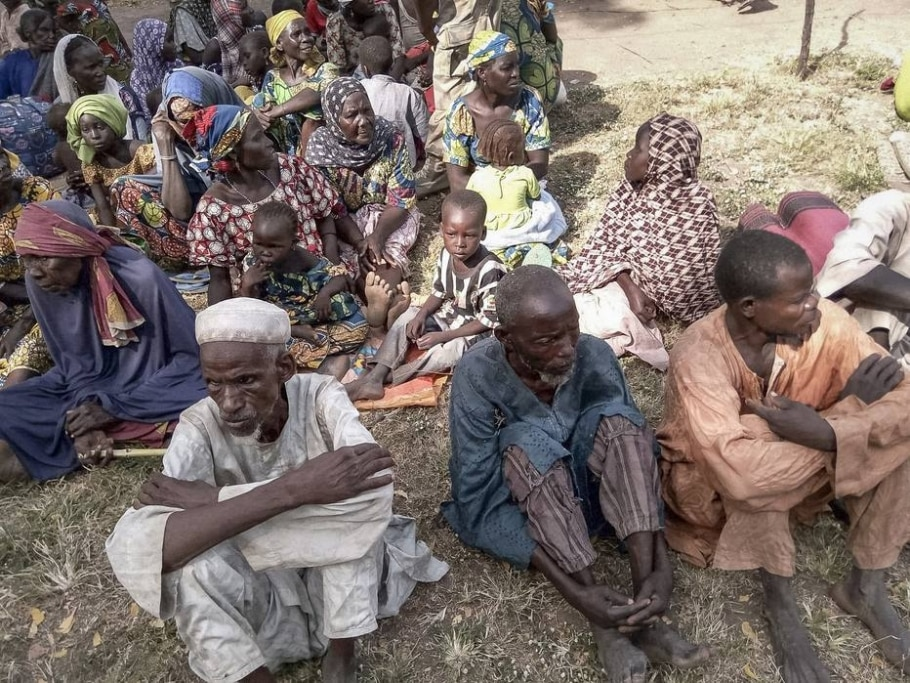 Reféns do Boko Haram, na Nigéria  - AFP PHOTO / NIGERIAN ARMY