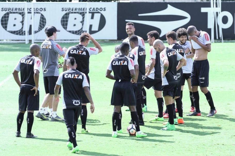 Treino do Atlético-MG - Bruno Cantini/ Atlético