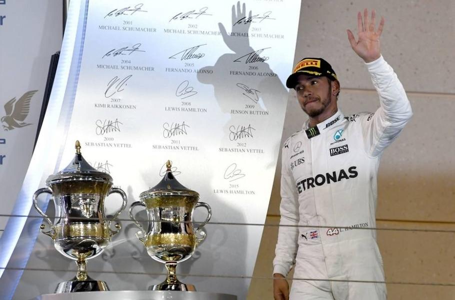 Lewis Hamilton, piloto da Mercedes - Aandrej Isakovic/ AFP Photo