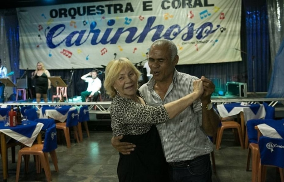 Avós e bisavós fala sem grilos sobre sua vida sexual ativa - Daniel Teixeira/Estadão