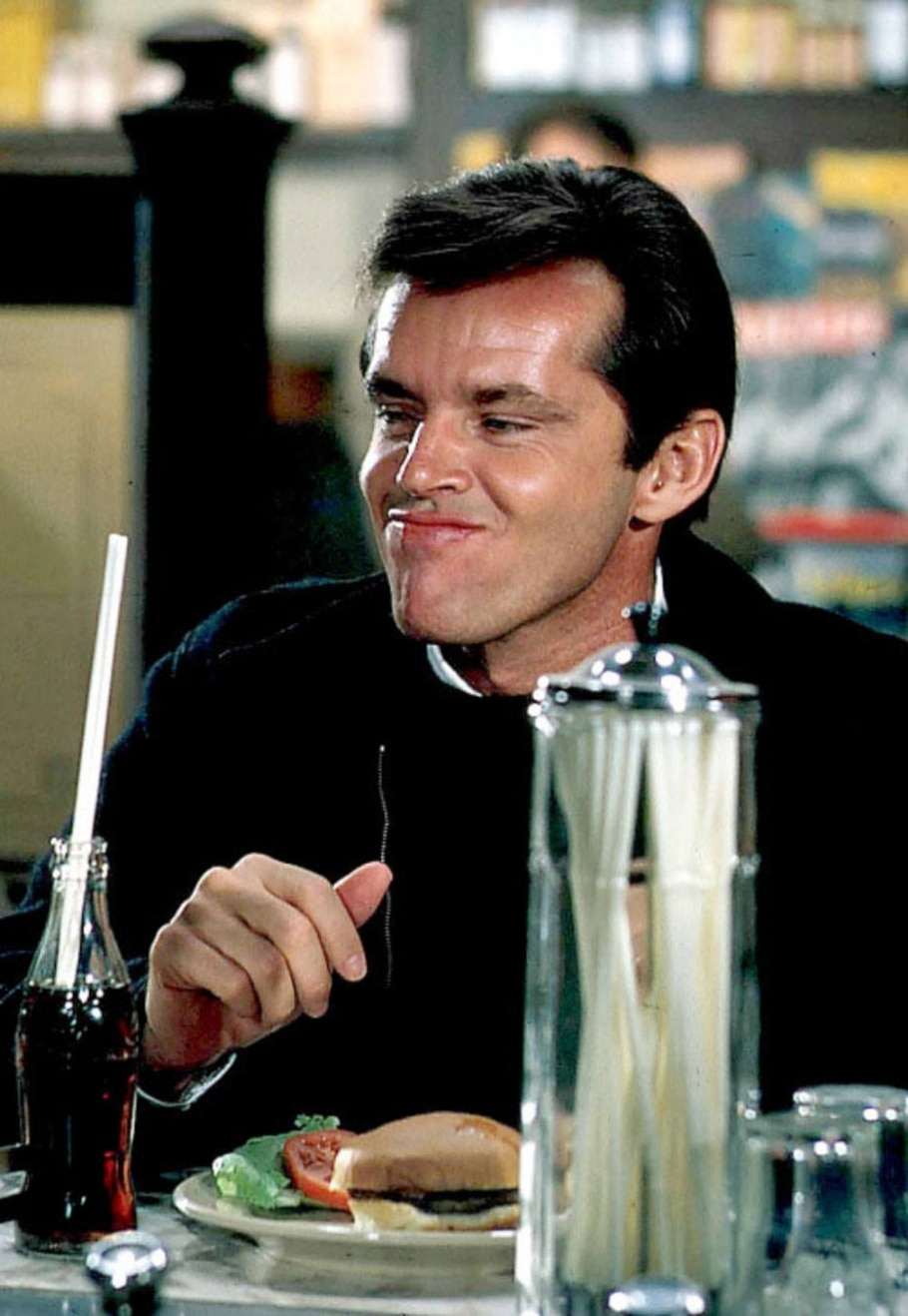 Jack Nicholson em 'Ânsia de Amar' - Divulgação