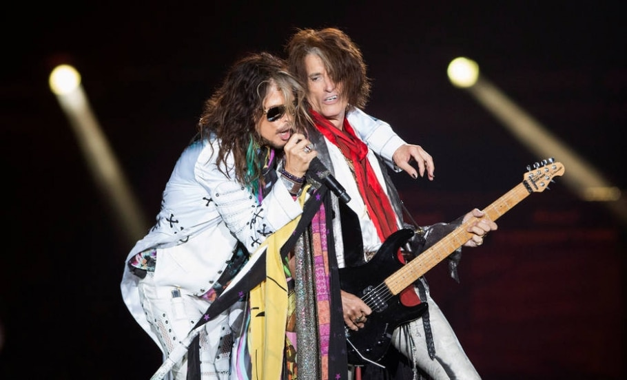 Steven Tyler e Joe Perry, do Aerosmith - Reuters