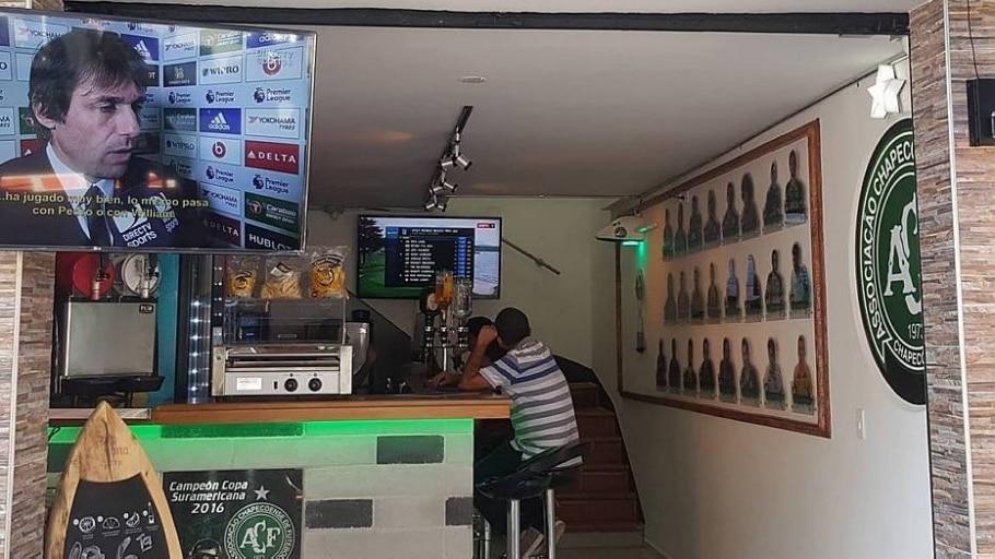 Novo bar fica nos arredores do estádio Atanasio Girardot - Arquivo Pessoal
