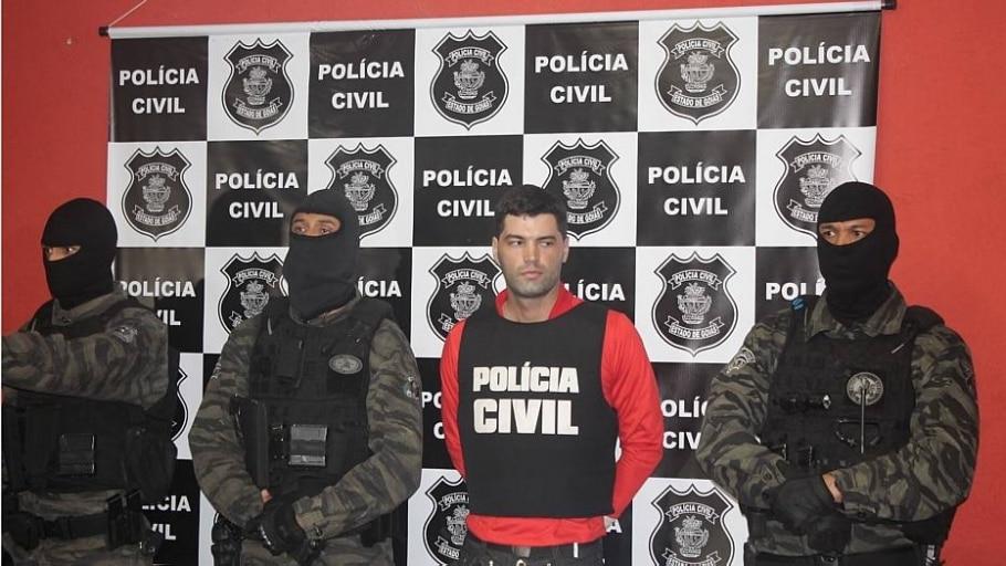 Vigilante que assumiu 39 mortes em GO tenta suicídio em delegacia - Secretaria de Segurança Pública de Goiás/Divulgação