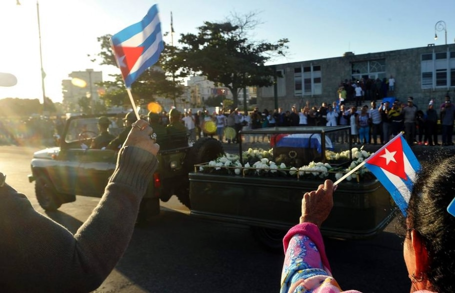 Homenagem a Fidel Castro em Cuba -