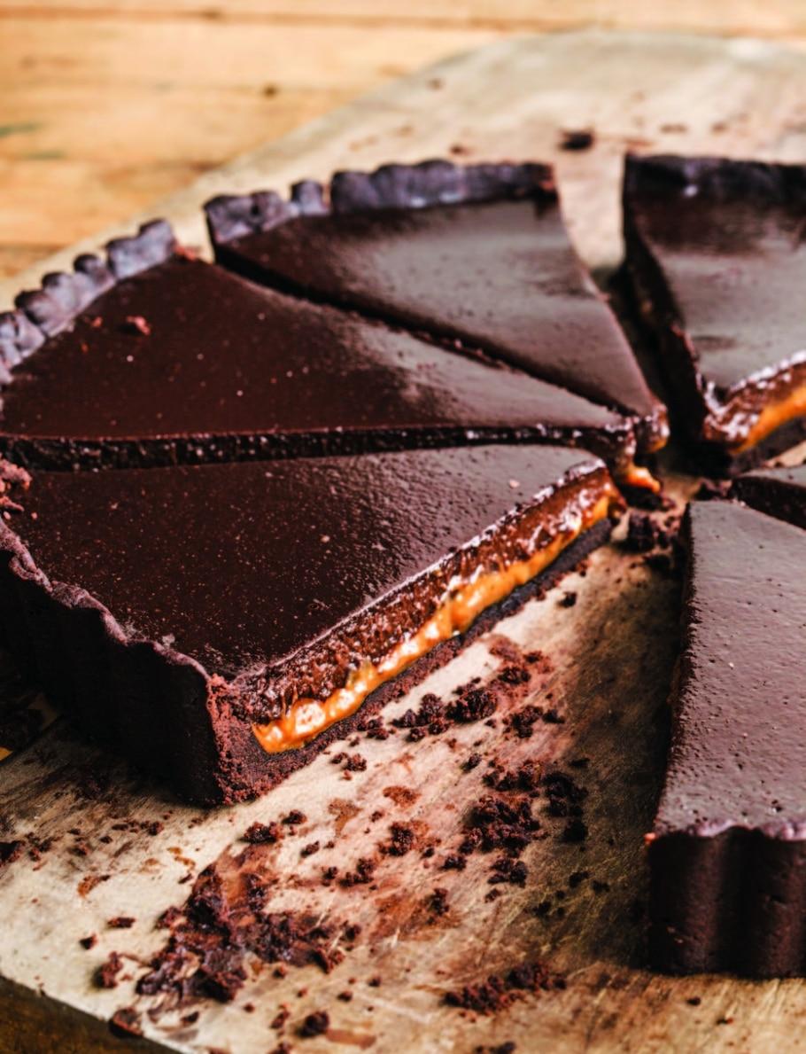 Torta de chocolate e doce de leite - Ed Anderson/Divulgação