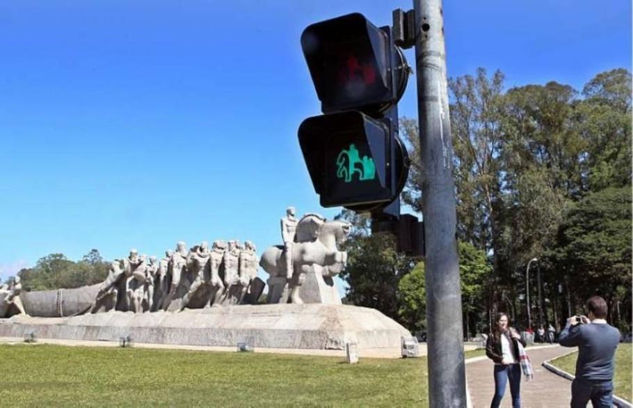 Pontos famosos de São Paulo terão faróis com imagens dos locais - Sérgio Castro/AE