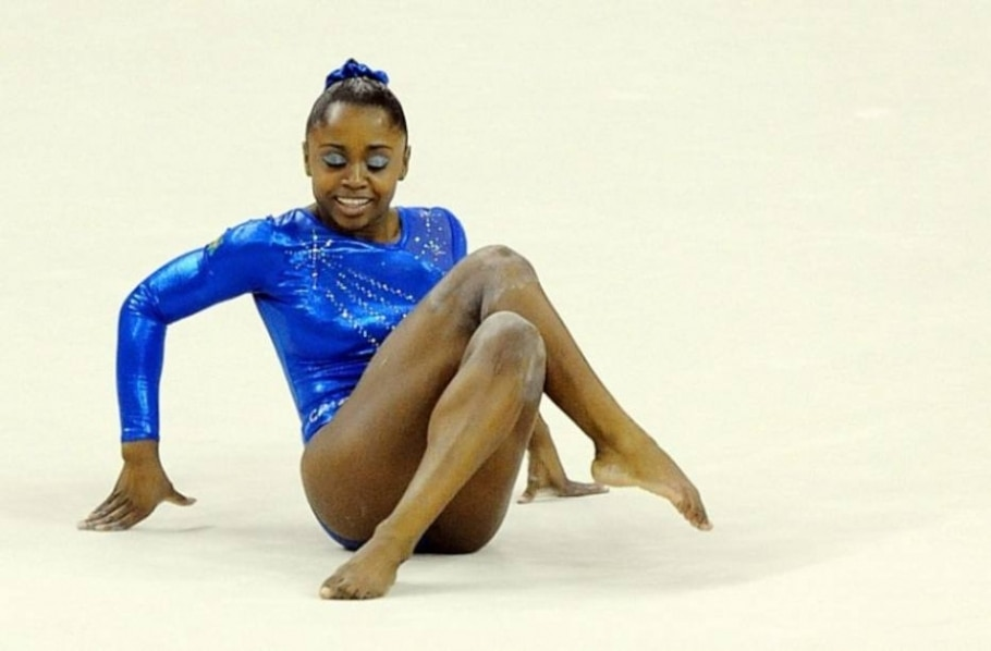 Daiane dos Santos é bronze no solo no Pré-Olímpico de ginástica - Andy Rain/EFE