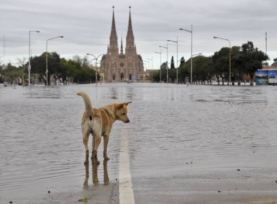 Inundações na Argentina - AFP / Daniel Vides